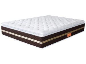 [C.Ouro] Colchão Queen size Mola ensacada PillowTop 33cm - Umaflex | R$1196