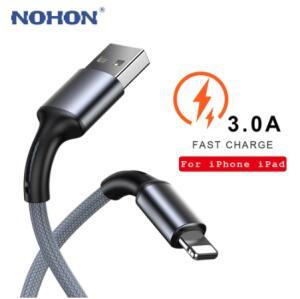[Novos usuários] Cabo para iPhone Nohon - 1m | R$0,06