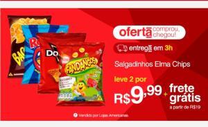 [APP] Salgadinho Elma Chips    2un por R$10