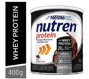 (Recorrência) Nutren Protein, Suplemento Alimentar, Chocolate, 400g | R$30