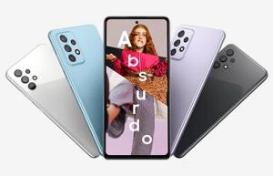 Galaxy A72 Preto / Violeta / Azul / Branco + Bateria Externa 10.000 mah + Galaxy Buds Live   R$ 2249