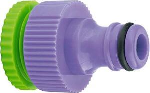Conector De Plástico Com Bucha De 1/2 Para 3/4 Com Rosca Interna | R$3