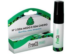 Desodorizador sanitário liquido freeCô 15ml capim limão | R$7
