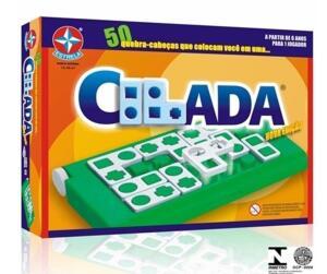 Jogo Tabuleiro Cilada 24 Peças Estojo Estrela | R$23