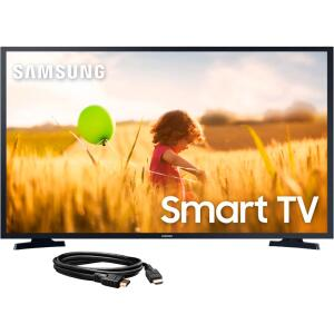 Samsung Smart TV LED 40'' Tizen FHD 40T5300 2020 + Cabo HDMI 1.4, High speed, c/Ethernet ( 3D ) c/ 3 metros | R$ 1700