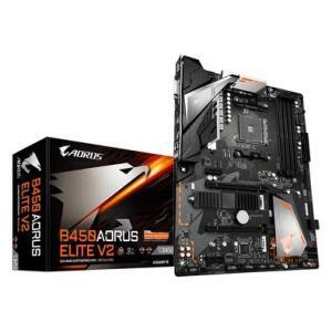 Placa-Mãe Gigabyte Aorus B450 Elite V2, AMD B450, ATX, DDR4 | R$855