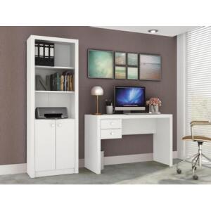 Escrivaninha/Mesa para Computador 2 Gavetas - Móveis Videira | R$180