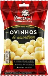 [L6P4 C.Ouro] Amendoim Ovinhos Elma Chips 170g | R$2.66