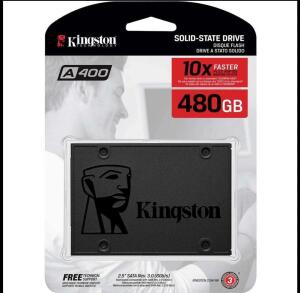 [APP+CUPOM+AME R$342] SSD Kingston A400 480GB | R$359