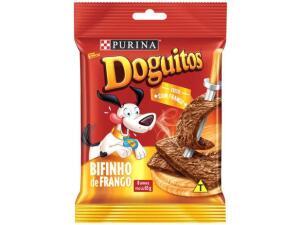 [C. Ouro Leve4Pague3 magalupay] Petisco para cães adultos Doguitos Frango 65G | R$3,67