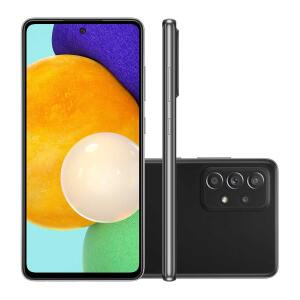 "Smartphone Samsung A52 128GB Preto 4G Tela 6.5"" | R$2524"