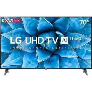 "Smart TV LG 70"" Led Ultra HD 4K | R$3699"