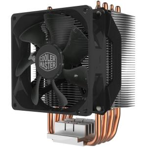 Cooler para Processador Cooler Master AMD/ Intel Hyper H412R   R$153