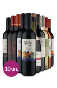 Kit 10 Vinhos por R$186 | R$186