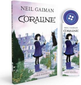 Coraline - Edição Especial + Marca Páginas (Capa Dura) | R$22