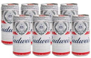 APP + CLIENTE OURO - Cerveja Budweiser 269ml 8 unidades por 2,70