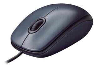 [CLIENTE OURO+APP] Mouse Logitech Óptico 1000DPI 3 Botões M90 | R$ 8
