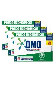(App) Sabão Omo lavagem perfeita 1.6kg 3 unidades | R$ 25