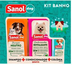 Kit Shampoo e Condicionador Pets