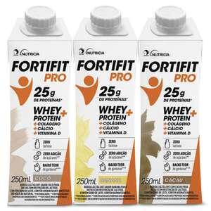 kit de 3 Fortifit PRO 250ml por R$0,03