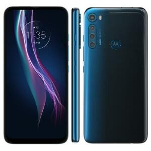 Smartphone Motorola One Fusion+ Azul Indigo 128GB   R$1804