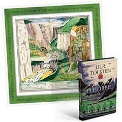 [App] Livro o Hobbit + Poster | R$10
