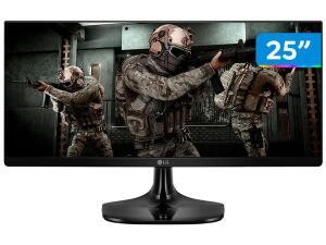 "(App + C.Ouro) Monitor Gamer LG 25UM58G 25"" LED IPS - Full HD HDMI 75Hz 1ms   R$839"