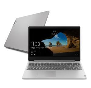 "Notebook Lenovo Ideapad S145 R5 12GB 1TB W10 15.6"" Prata   R$3036"