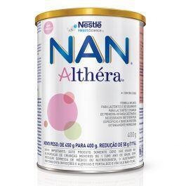 Promoção NAN Althéra - Lata 400g - Alfare Althera Alfamino | R$82