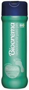 (Prime) Desodorante Para Pés Biocrema Mentolado de 100g | R$2,42