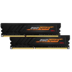 Memoria DDR4 3200mhz 16gb Udimm (kit 2x 8gb) Geil Evo Spear Black CL16   R$ 539