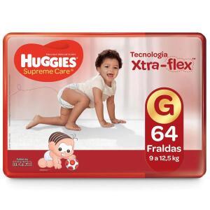 3 pacotes de Fraldas Huggies Supreme Care Hiper ( M ao XXG) | R$140