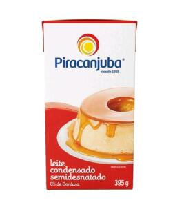 [Cliente ouro] Leite Condensado Semidesnatado Piracanjuba 395g | R$3,33