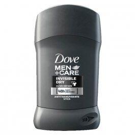 Antitranspirante em Barra Dove Men Invisible Dry 48h | R$ 11
