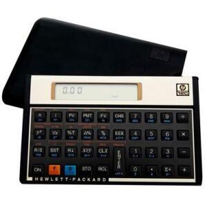 Calculadora Financeira HP 12C Gold, 120 Funções, Visor LCD, RPN e ALG R$330