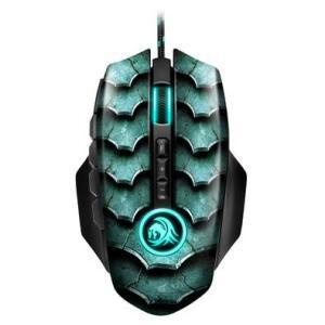 Mouse Gamer Sharkoon Drakonia II, RGB, 12 Botões, 15000DPI, Verde   R$190