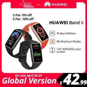 Smartband Huawei band 6 - Versão Global | R$293