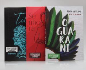 Kit 3 Livros | José de Alencar | Para Vestibular | R$15