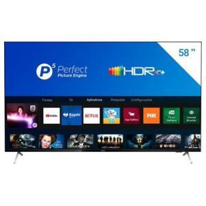 """Tv 58"""" Led Philips 4k - Ultra Hd Smart - 58pug7625/78 I R$ 2.699"""