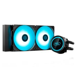 (APP) Water Cooler DeepCool Gammaxx L240T Led Azul 240mm | R$310