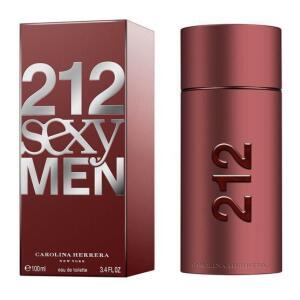Perfume Carolina Herrera 212 Sexy Masculino Eau de Toilette | 100mL | R$259