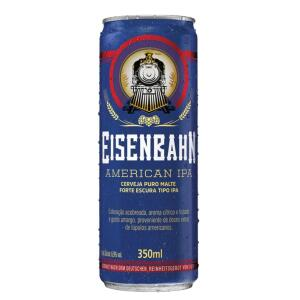 Cerveja EISENBAHN American Ipa Puro Malte Lata 350ml | R$2,25