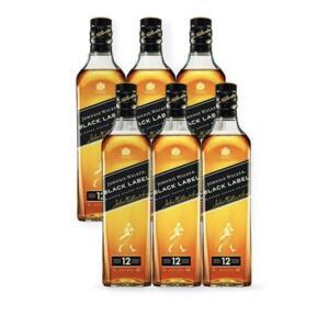 [APP] Combo Whisky Johnnie Walker Black Label 1L - 6 Unidades | R$533