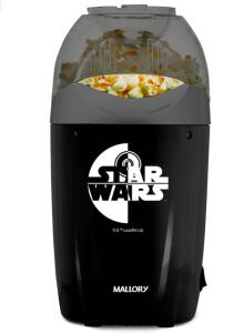 Pipoqueira Elétrica Mallory Star Wars - Preta | R$102