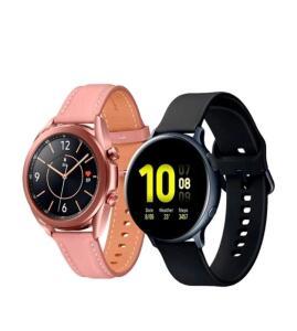 (AME = R$2079)Galaxy Watch3 41 mm + Galaxy Watch Active2 44mm | R$2.099