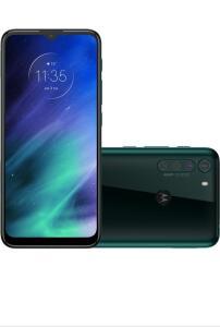 "Smartphone Motorola One Fusion 128GB Azul Safira 4G Tela 6.5"" | R$1367"