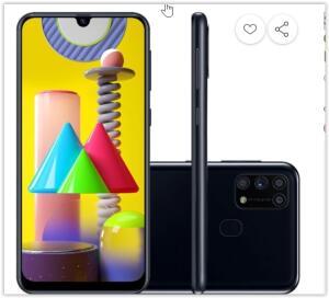 [Reembalado] Smartphone Samsung Galaxy M31 128GB   R$ 1250