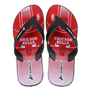 Chinelo NBA Chicago Bulls Rider Street Bold Ad Masculino - Vermelho+Branco | R$17