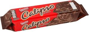 Leve 4 pague 3- recorrência- Biscoito Calipso Coberto, Chocolate, 130g | R$3,69