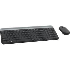 [Reembalado] Combo Teclado e Mouse Logitech MK470 | R$150